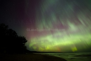 Aurora-Northern-Lights-Little-Presque-Isle-Marquette-MI